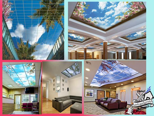استفاده از سقف های کاذب آسمان مجازی در دکوراسیون داخلی